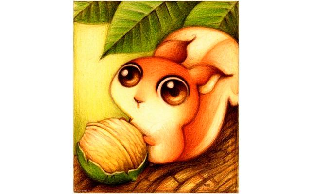 Милые животные фото нарисованные