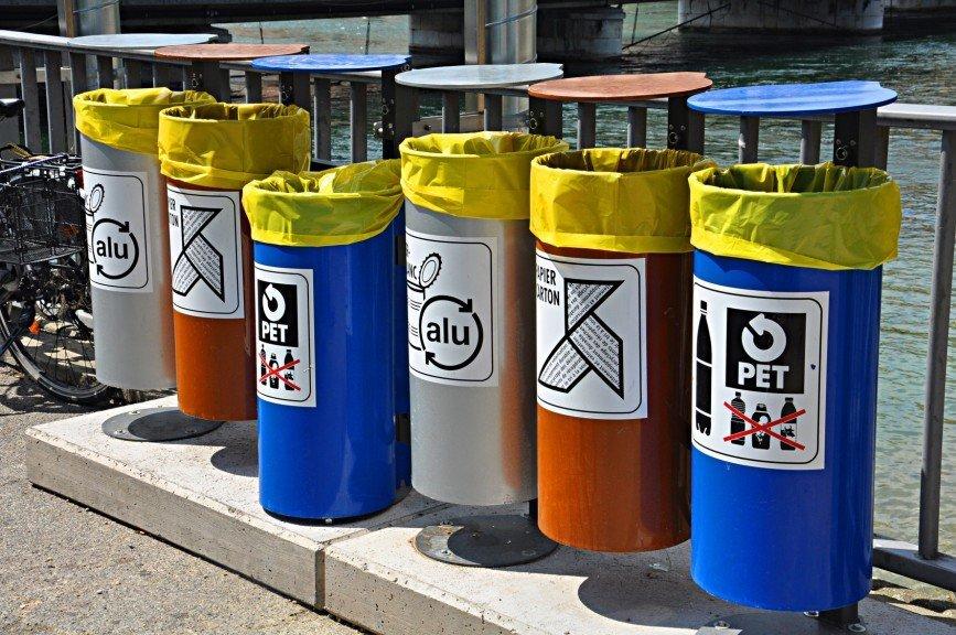 Заметки из Швейцарии: система сбора мусора