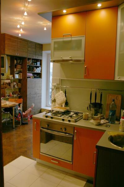 Как из кухни сделать кухню комнату