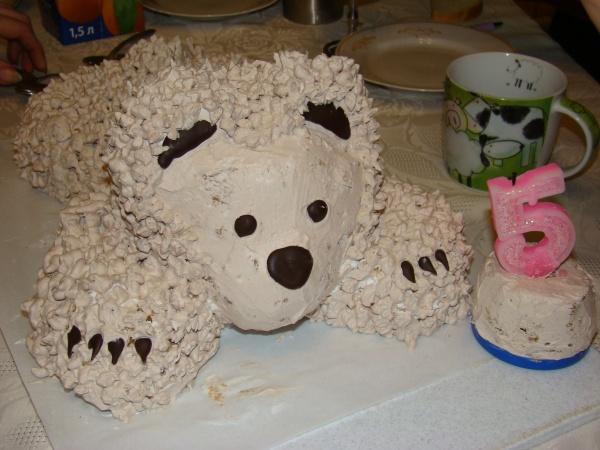 Торт дочери на 5 лет своими руками 31