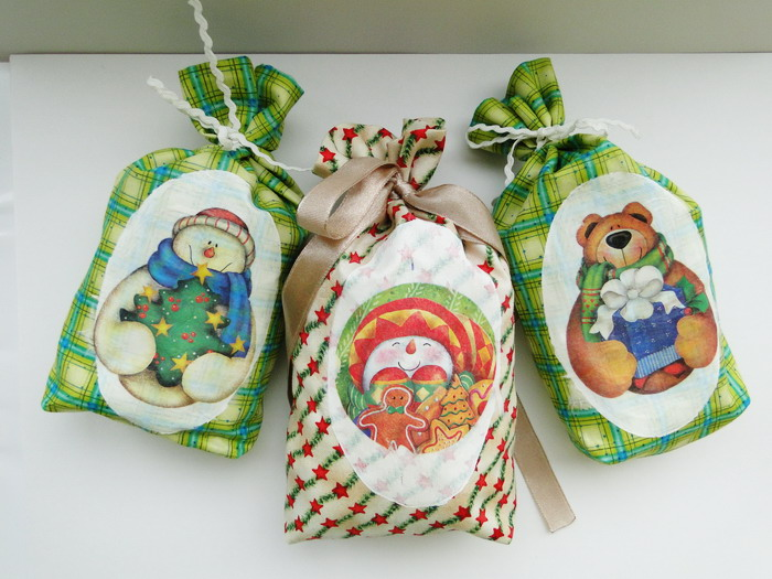 65 идей новогодних игрушек из бумаги Текстильные ёлочные игрушки своими руками