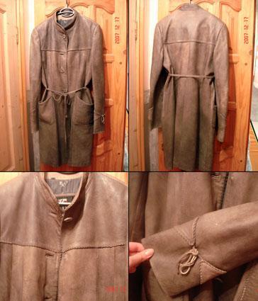 Как из пальто сделать куртку