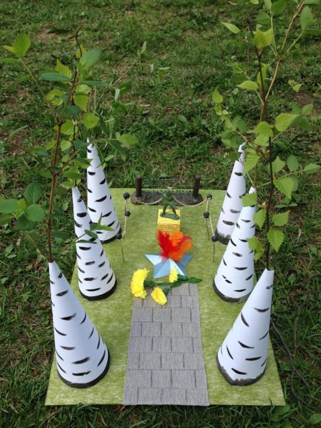 Объемные поделки для детского сада своими руками 77