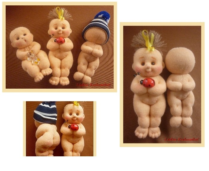 Как сшить куклу пупс своими руками