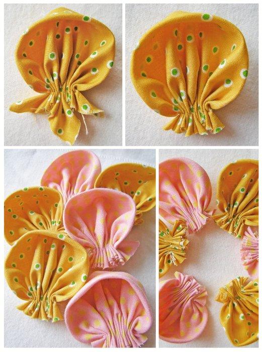Как сшить на руку цветок из ткани своими руками 26