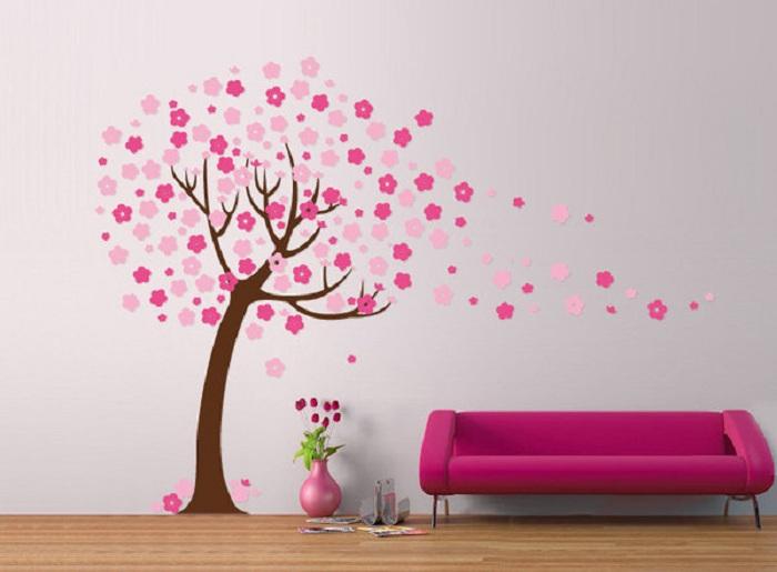 Как сделать дерево на стене своими руками в домашних условиях