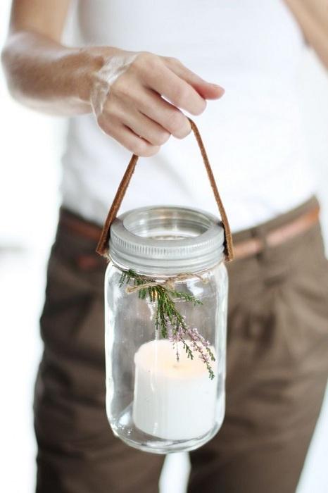 Как сделать свечи в банках своими руками 94