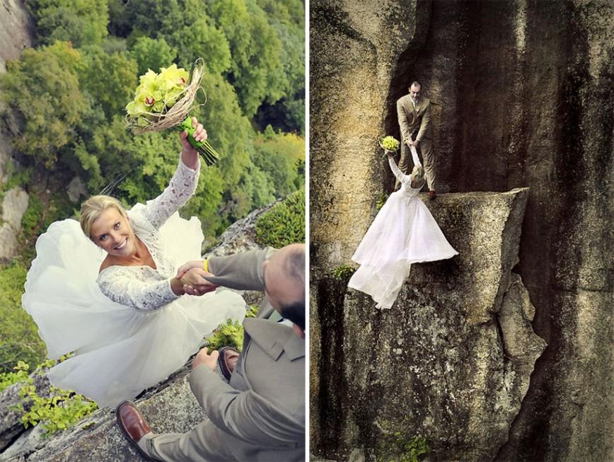 Красивые идеи для свадебной фотосессии фото