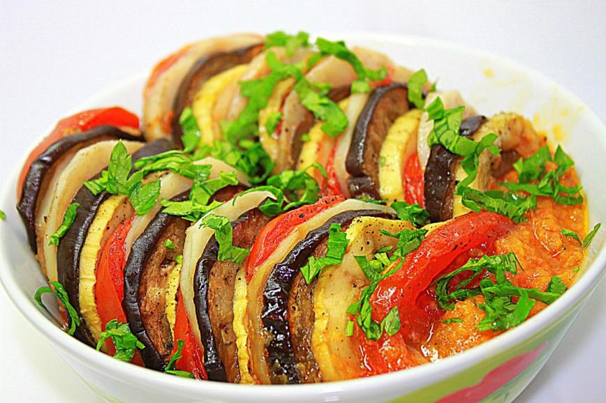 Овощное рагу в духовке рецепт с фото