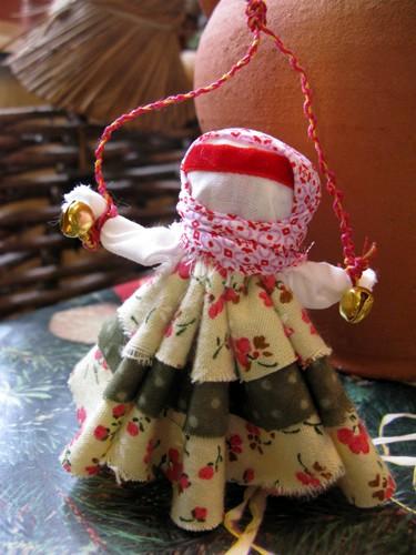 Куклы из ткани своими руками с колокольчиком