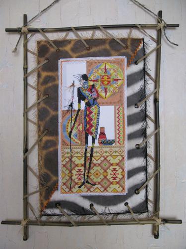 Ручные работы в африканском стиле