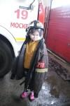 Горячий  репортаж из пожарной части