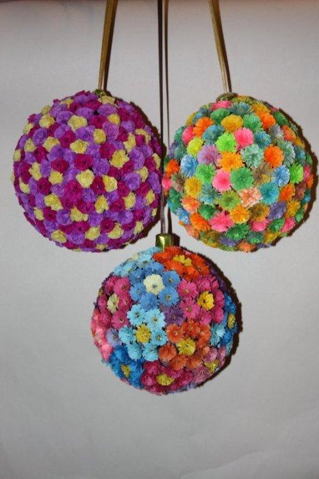 Поделки на новый год своими руками из бумаги шарик - Vento-divino.ru