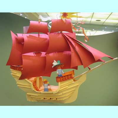 Поделка корабля своими руками