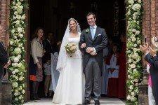Бельгийская принцесса Аликс де Линь вышла замуж за графа