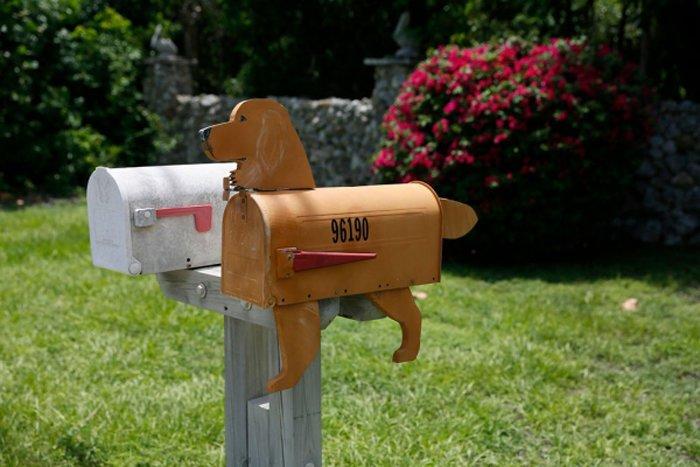 Почтовые ящики для частного дома фото