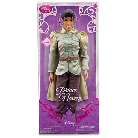 The princess and the frog naveen doll