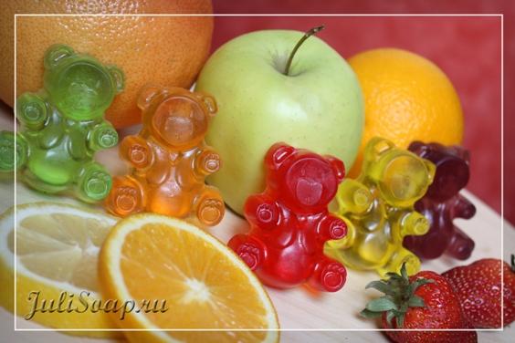 Мыло своими руками с витаминами