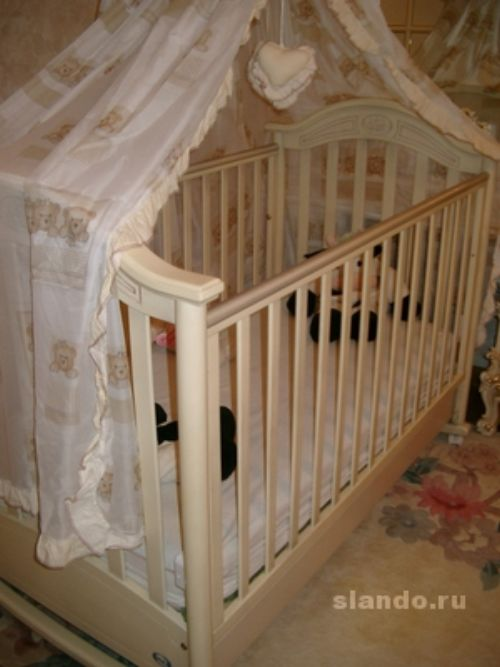 Фото: детские кроватки tommy
