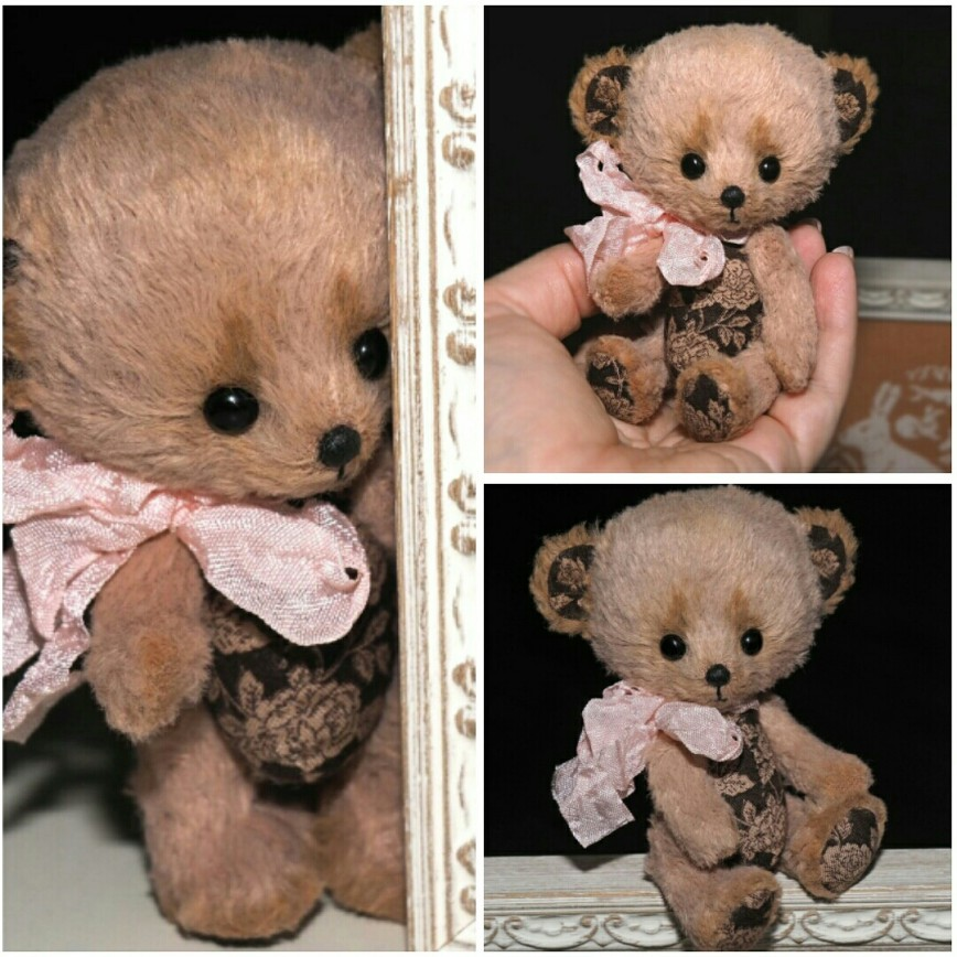Больше фото тут http://book-of-wishes.blogspot.ru/2015/09/handmade-rose-bear.html