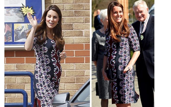 Последние фото беременной кейт миддлтон фото