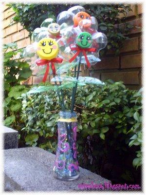 Легкие поделки из пластиковых бутылок для сада и огорода и описание