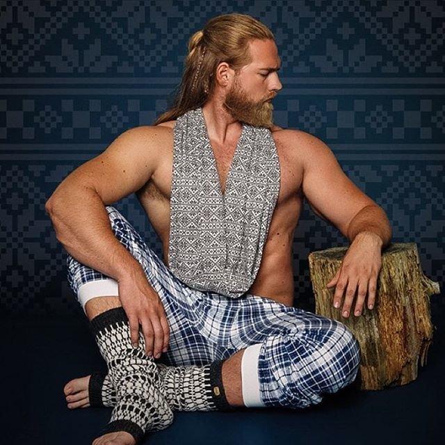 Современный норвежский викинг