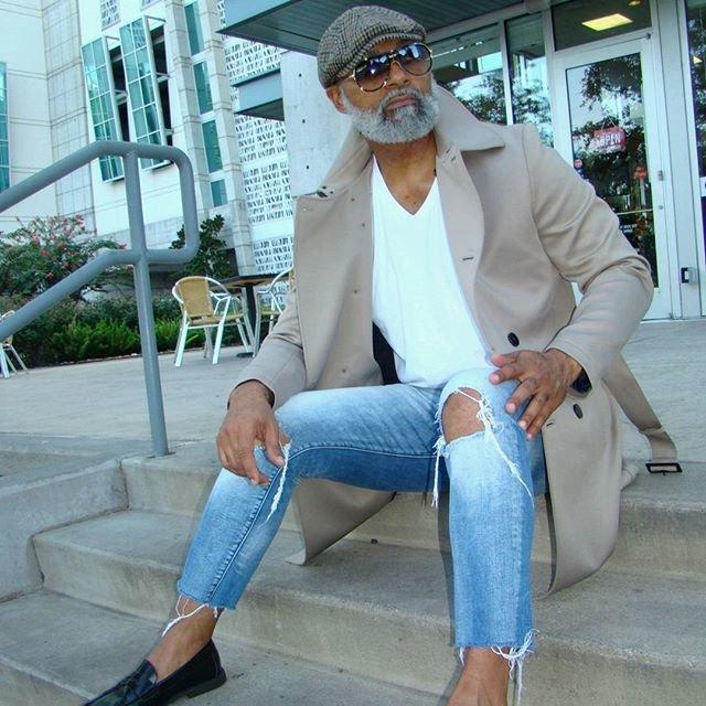 Техасский пенсионер - самый горячий дедушка интернета