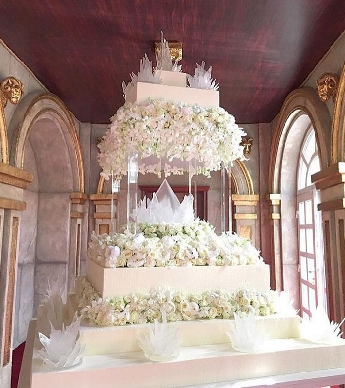 Фото торта на свадьбу преснякова