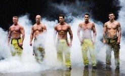Австралийские пожарные в традиционной благотворительной акции