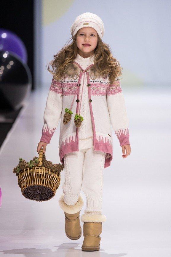 Неделя моды в Москве: одежда для детей