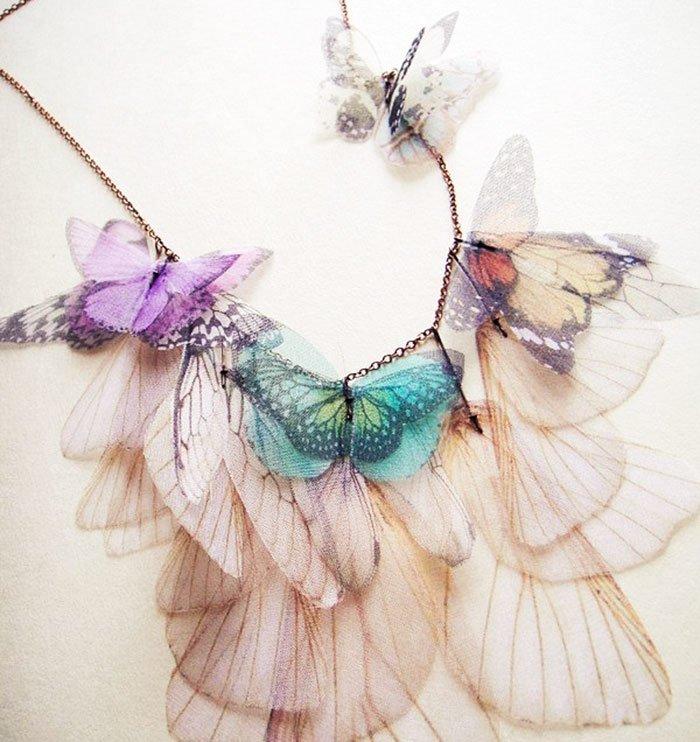 Бабочки из органзы своими руками фото