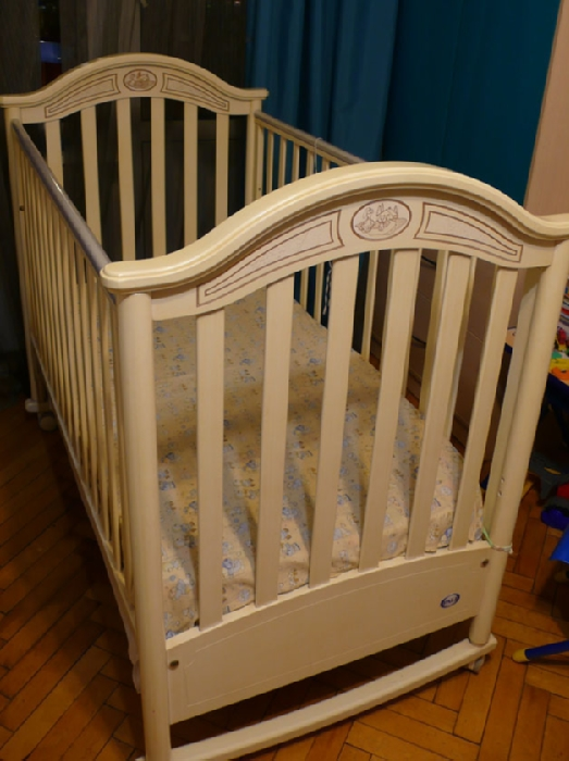Кроватка charlotte (bianco anticato), pali