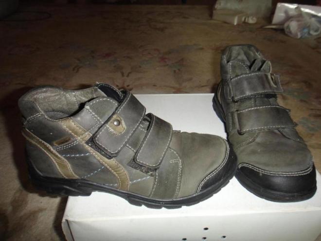 ботинки демисезонные состояние идеальное