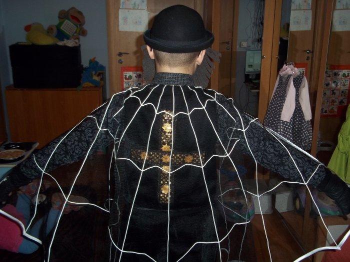 Костюм паука своими руками фото