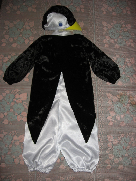 Шапочка для пингвина своими руками