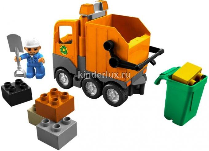 Мусоровоз Lego 500 р
