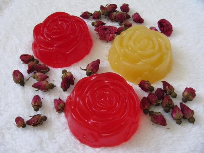 Мыло из роз своими руками