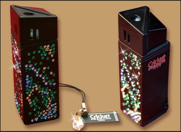 Зажигалка cricket premium paris газовая, инкрустирована кристаллами swarovski, модель nude 1, цвет розовый