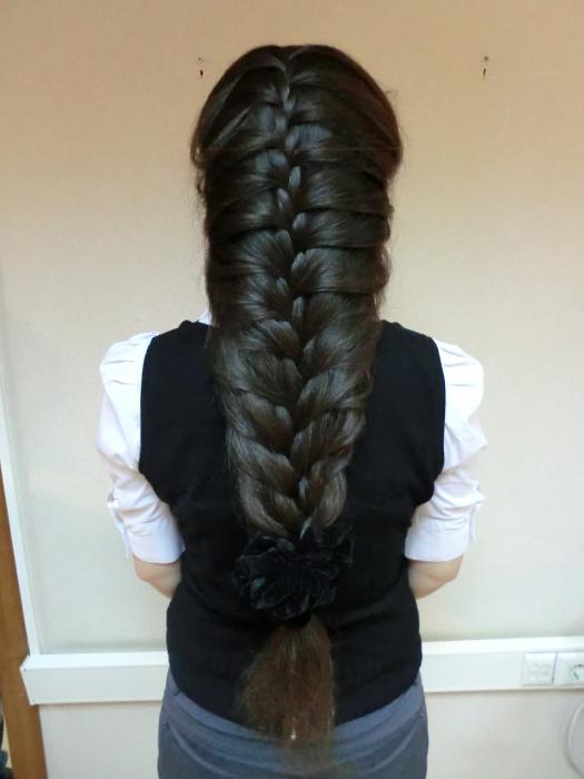 Плетение на длинные волосы фото 2017