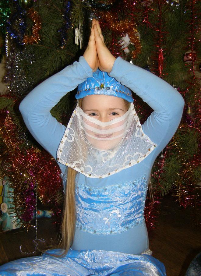 Новогодний костюм шамаханская царица своими руками