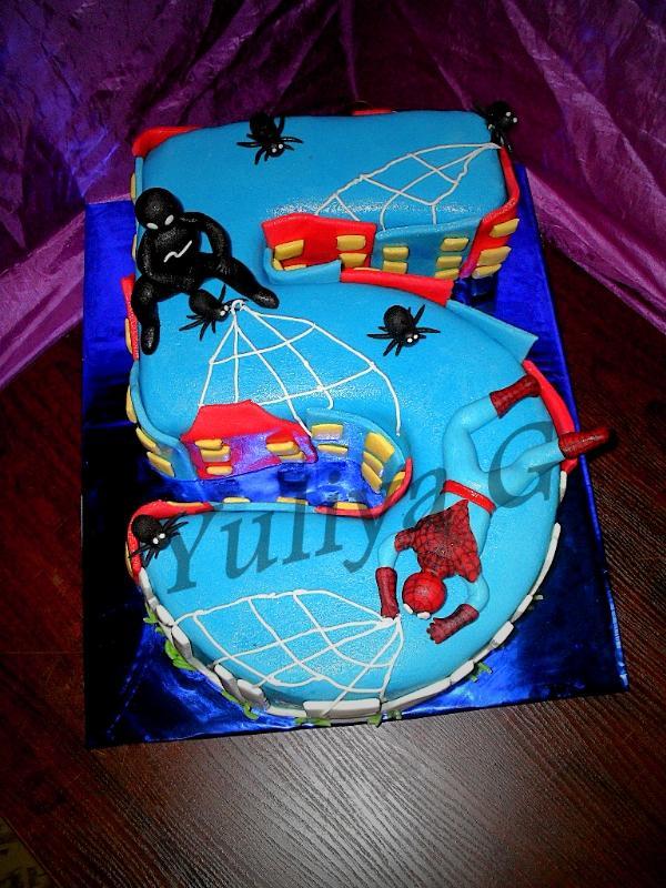 Торт для мальчика 5 лет своими руками фото