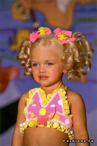 У конкурсы красоты для детей
