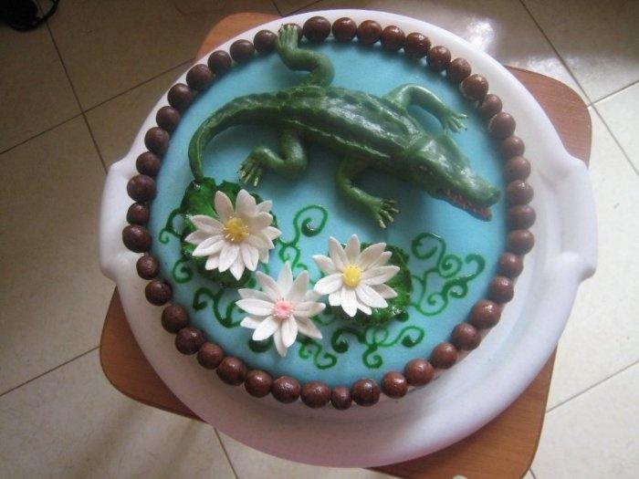 """Торт """"Крокодил"""""""
