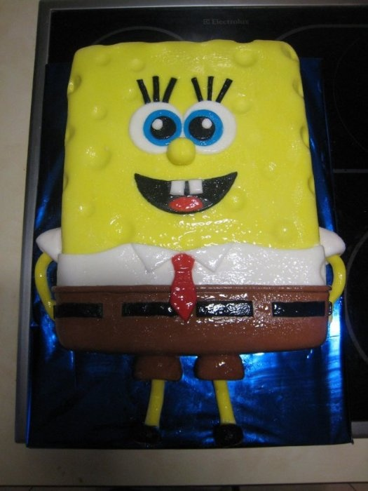 "Торт""Спанч Боб"""