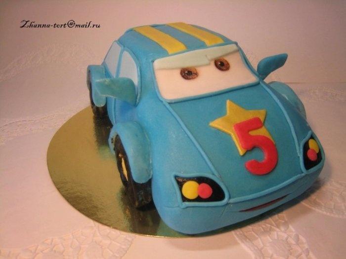 """Торт """"Сердитая машинка"""""""