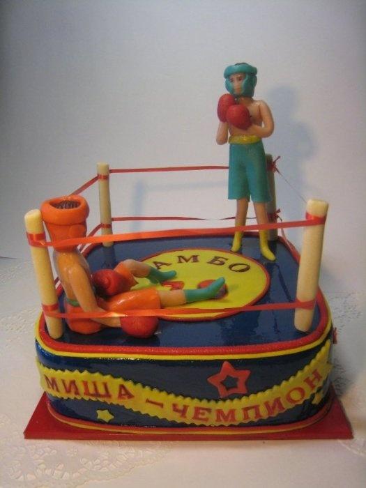 """Торт """"Боксеры"""", 4 кг"""