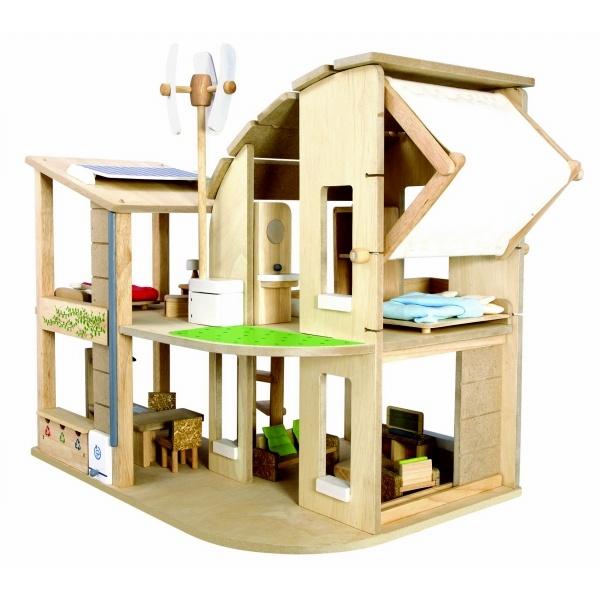 Как сделать игрушечный домик своими руками фото