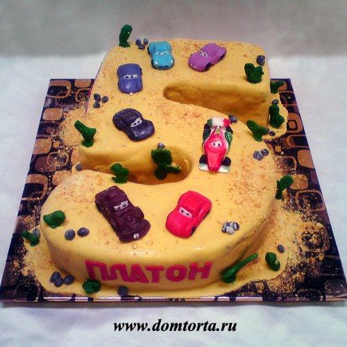 Фото детские торты на пять лет