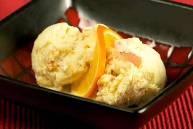 Как сделать мороженое из апельсина в домашних условиях